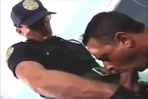 drilled By Police Officer