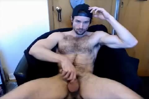handsome hairy twink handjob On cam