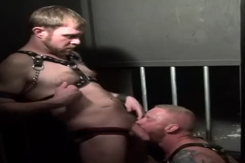bareback Leather Fuckers - Scene three