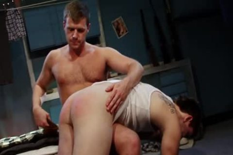 Spanked And hammered For engulfing Himself