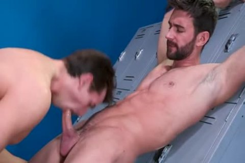 Intimate allies In The Locker Room