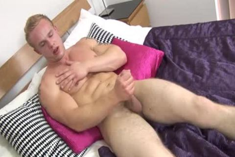 Nathan Scott Is A Hunk In bed Masturbating