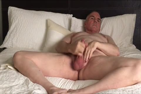 Stroking My petite 10-Pounder And Eating My Load